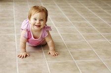 Clean tile by Chem-Dry