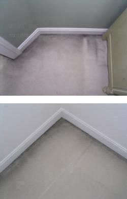 Carpet Filtration Soiling